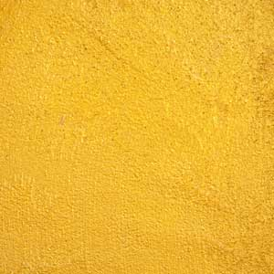 Yellow Textured Ceiling